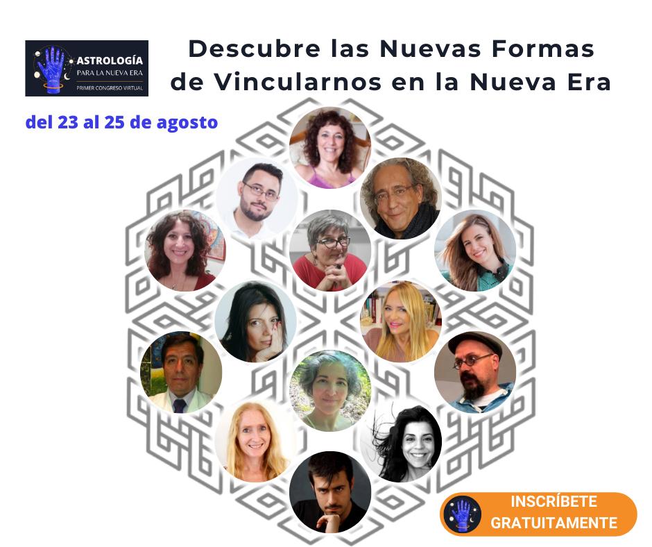 Congreso online de Astrología para la Nueva Era 23-25 agosto