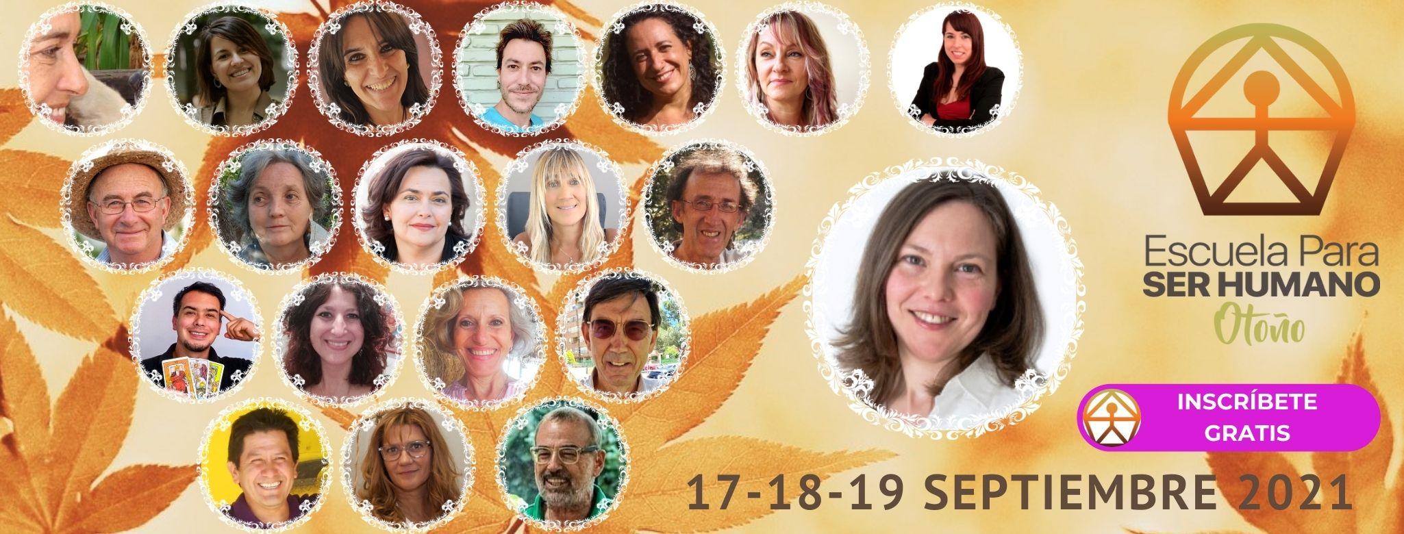 Cumbre Virtual de Naturaleza, Autoconocimiento y Bienestar 17 -19 septiembre 2021