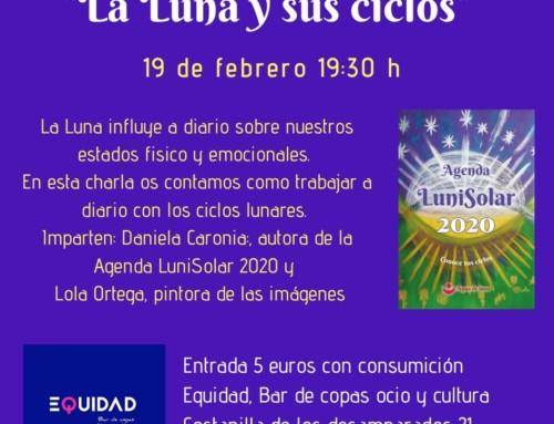 Conferencia «La Luna y sus ciclos» 19 de febrero 19:30