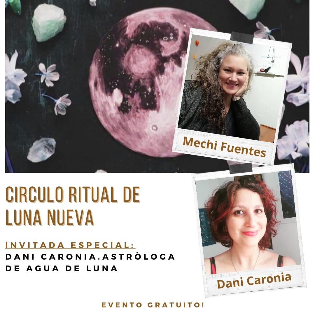 Circulo ritual de Luna Nueva Sábado 14 de Noviembre a las 21