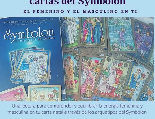 Lectura astrológica con las cartas del Symbolon-integrando tu femenino y masculino