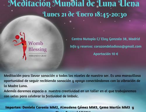 Meditación mundial de Luna Llena 21 de Enero 18:45 a 20:30.