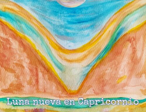 Luna Nueva en Capricornio 13-01-2021