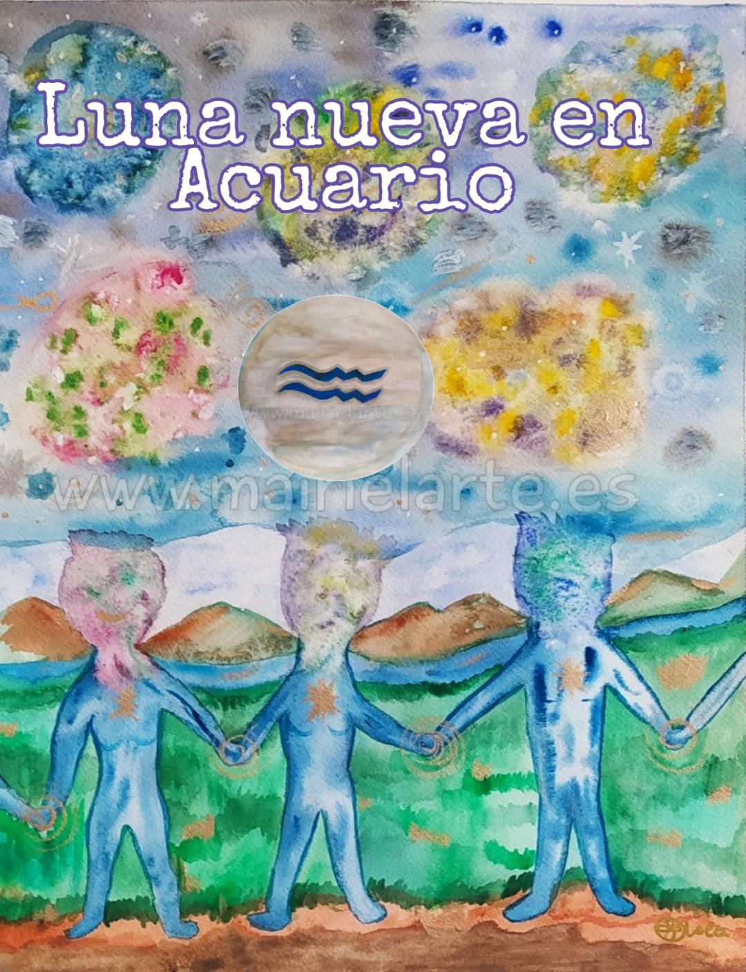 Luna Nueva en Acuario 11-02-2021