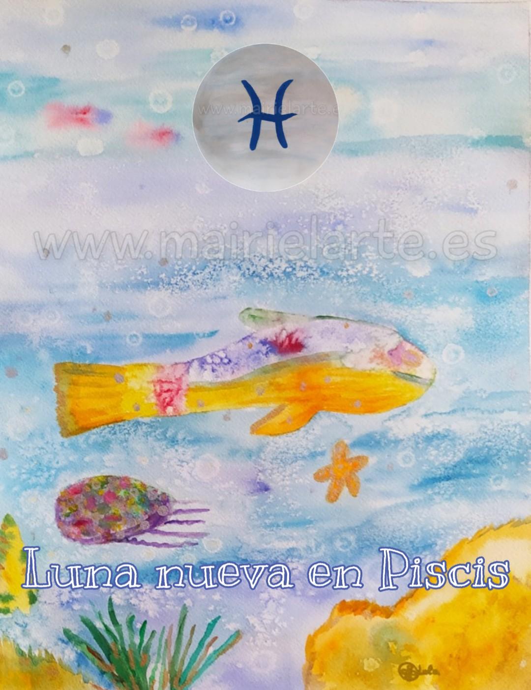 Luna Nueva en Piscis 13-03-2021