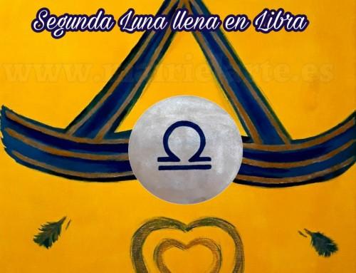 Segunda Luna Llena en Libra 19 de abril 2019