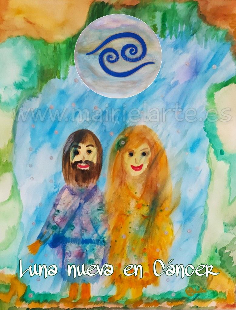 Luna Nueva en Cáncer 10-07-2021