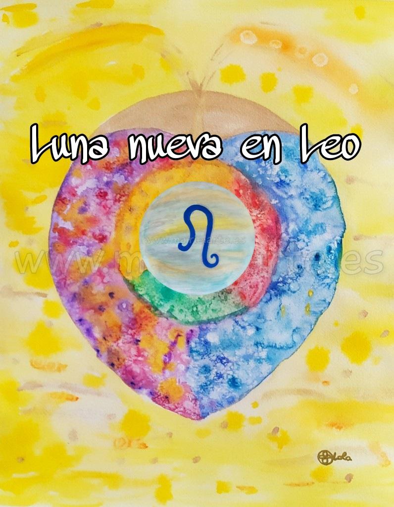 Luna Nueva en Leo 08-08-2021