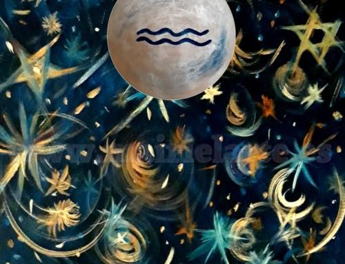 Luna llena en Acuario 15 de agosto 2019