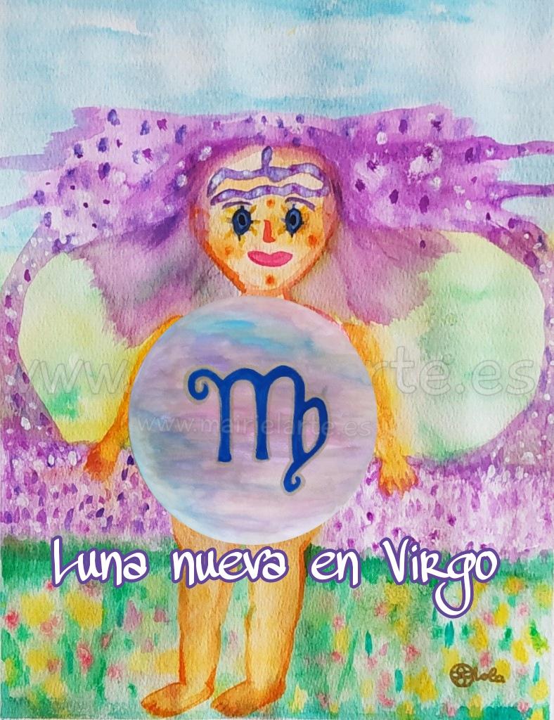 Luna Nueva en Virgo 07-09-2021