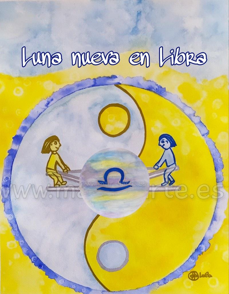 Luna Nueva en Libra 6 de octubre 2021