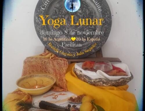 Circulo de luna menguante online-Yoga Lunar-Domingo 8 de Noviembre