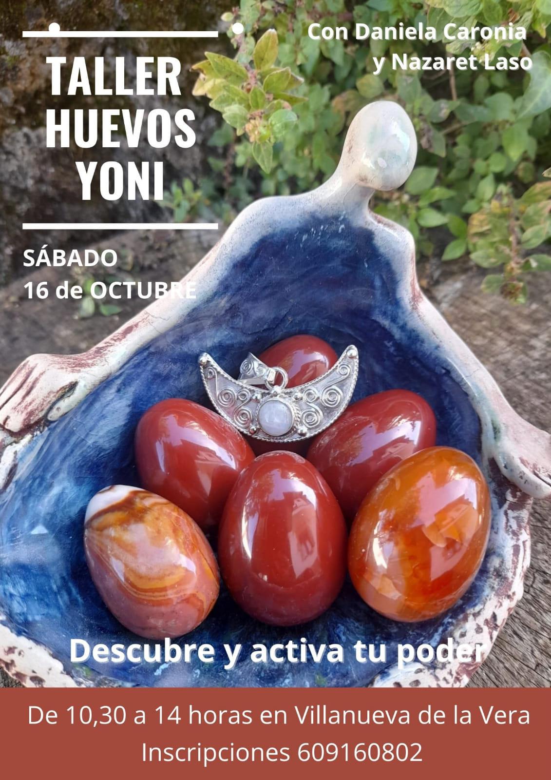 Taller Huevos Yoni 16 de octubre