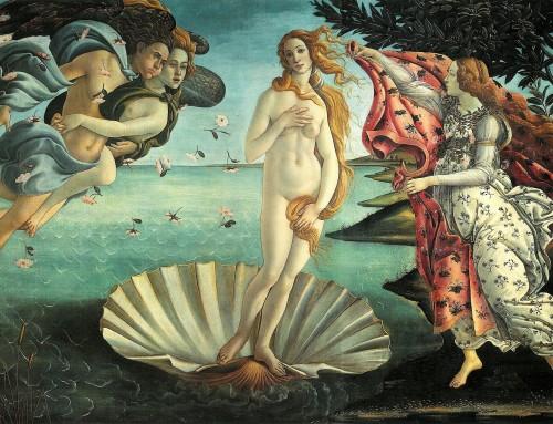 Bienvenido Urano en Tauro- El nacimiento de Venus